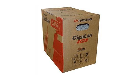 CABLE FKW UTP CAT6 X305MTS GRIS GIGALAN IEC 603321
